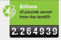 Landfill savings