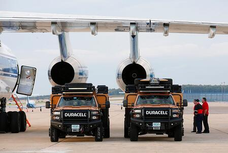 Duracell airlift