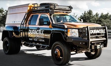 Duracell trucks