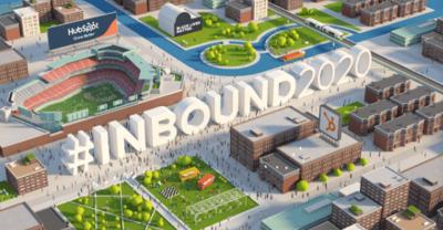 Inbound 2020 hashtag