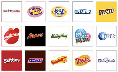 Mars Wrigley brands