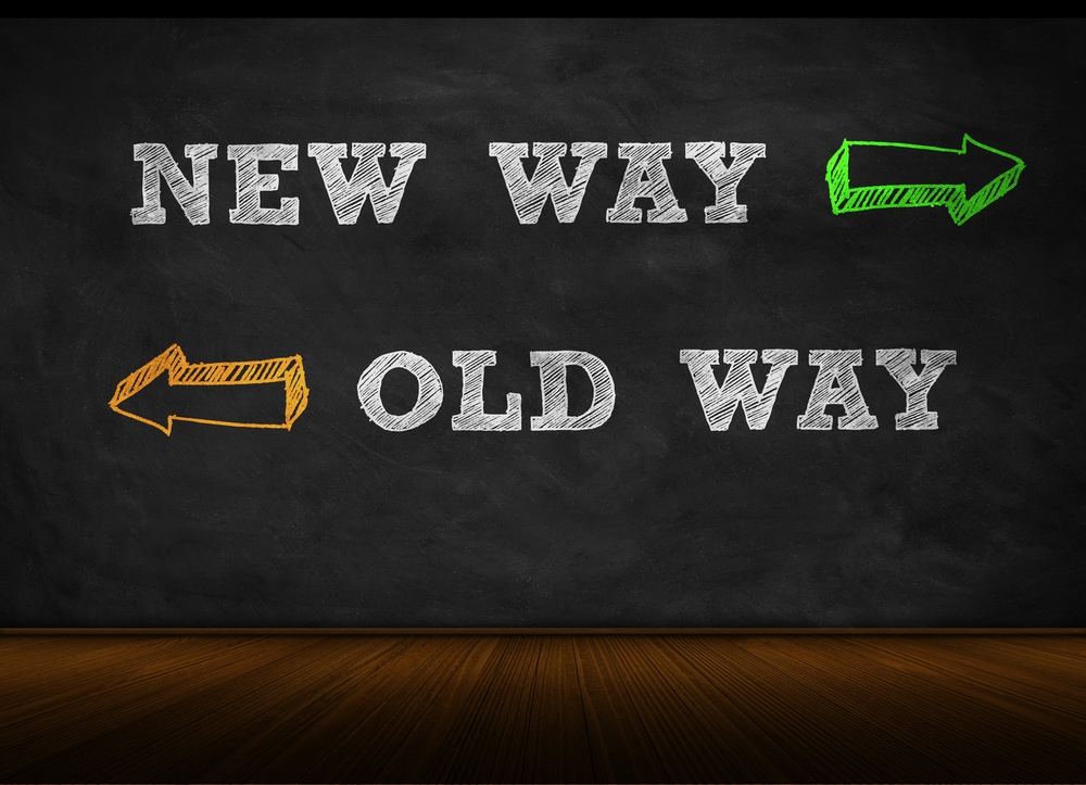 New Way Old Way shutterstock_267954020