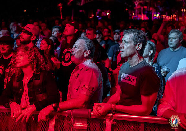 David Meerman Scott at a Grateful Dead concert