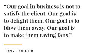 Tony raving fans quote