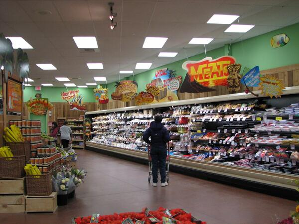 The inside of the Trader Joe's in West Hartford, Connecticut