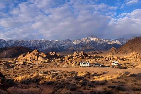Travel Trailer and Truck Camper Bama Hills LR