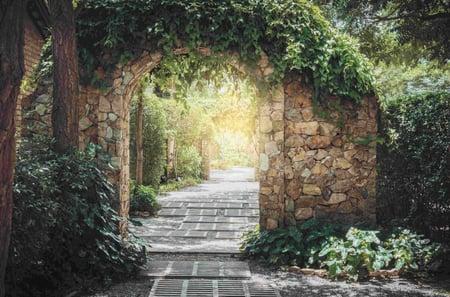 Walled Garden shutterstock_1112325872