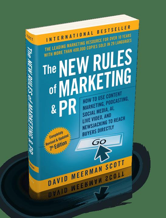 The New Rules of Marketing & PR by David Meerman Scott