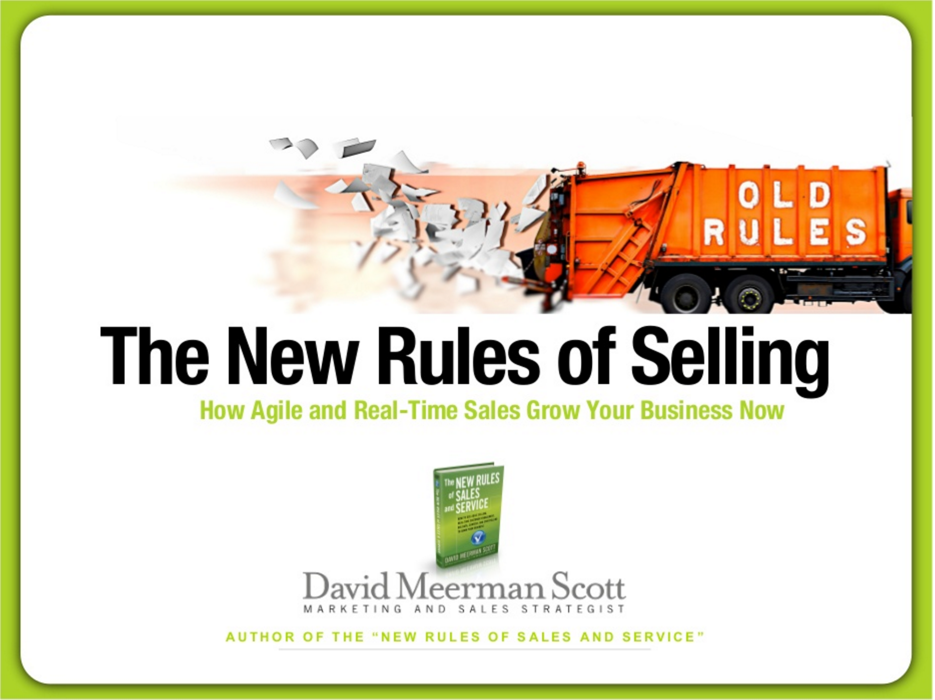 The New Rules of Selling
