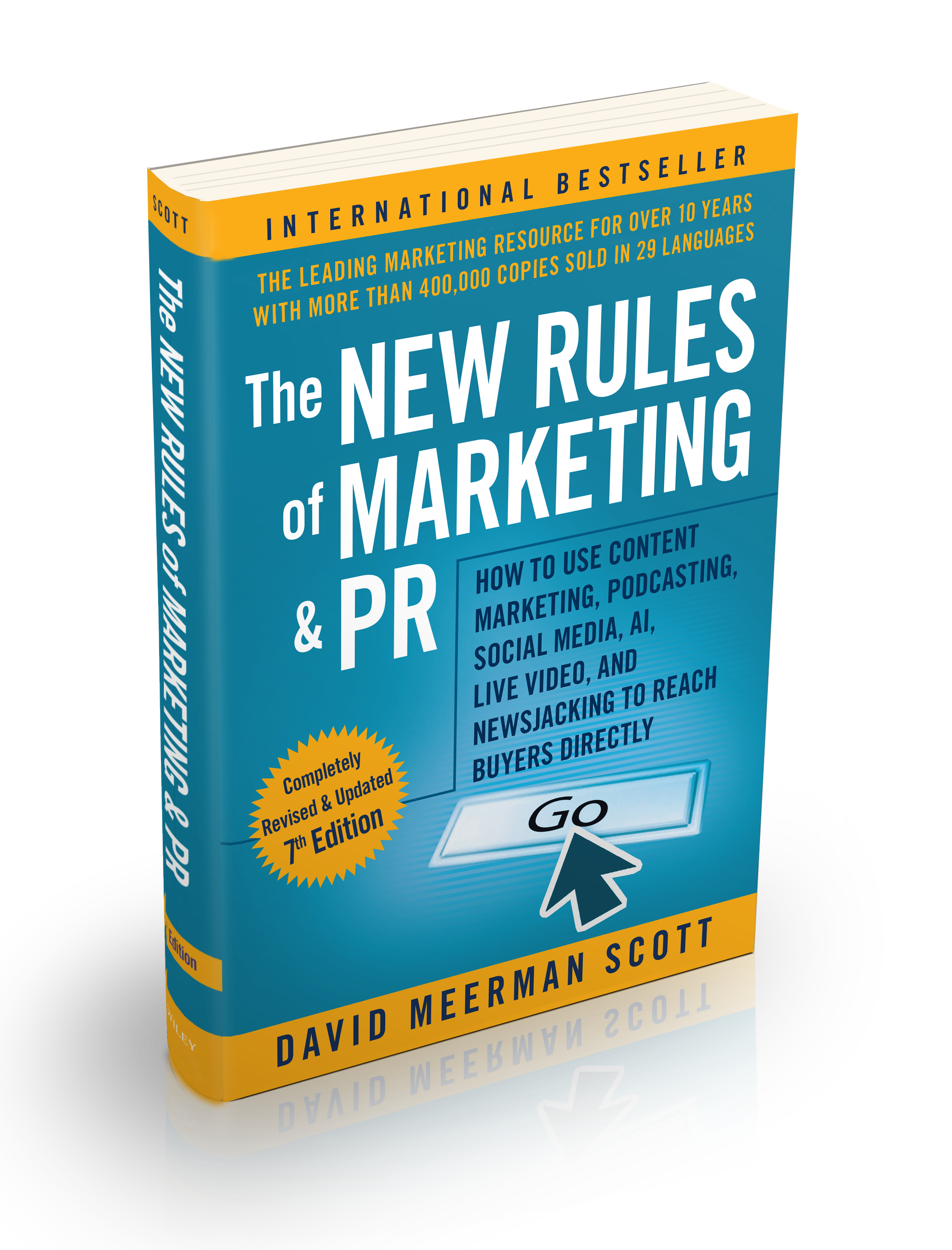Seventh Edition of The New Rules of Marketing and PR Releases Today!