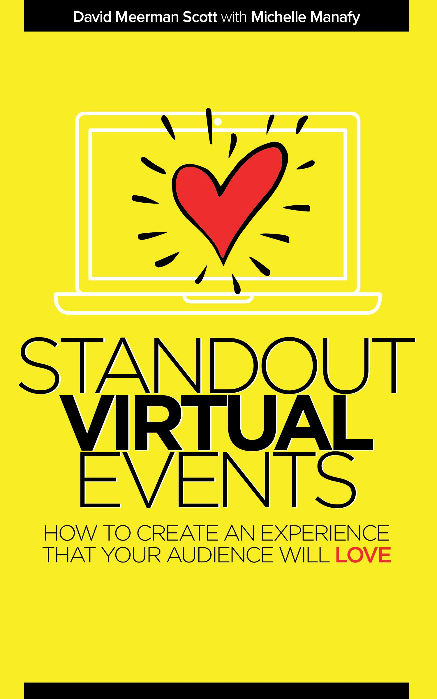 Announcing My New Book Available Now: Standout Virtual Events